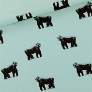 Afbeelding van Gorillas - M - French Terry - Grijs Mistblauw